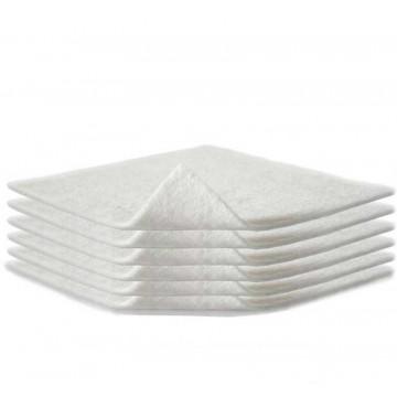 600 Apositos de gasa de tejido sin tejer de 20x20 cm. - 4 capas plegado a 10x10 cm.