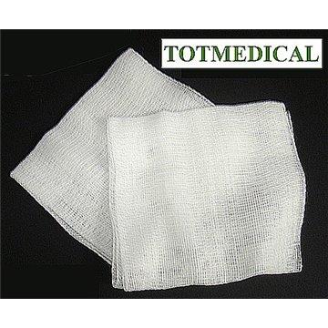 Pieza de gasa rectilínea de 15-16 hilos 16x25 - 8 capas plegado 7x7,5  plegado de farmacia