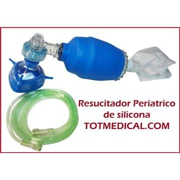 Resucitador de Silicona Oval Pediátrico