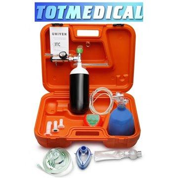 Botiquín de oxigenoterapia para reanimación