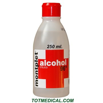 Alcohol 96º 250 ml.
