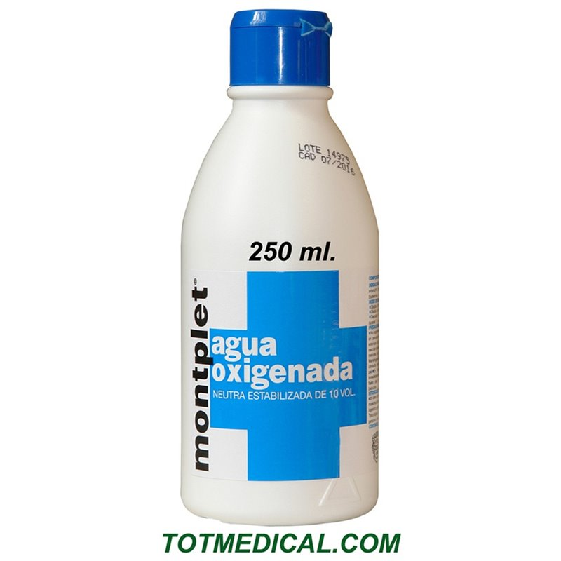 Agua oxigenada de 250 ml.