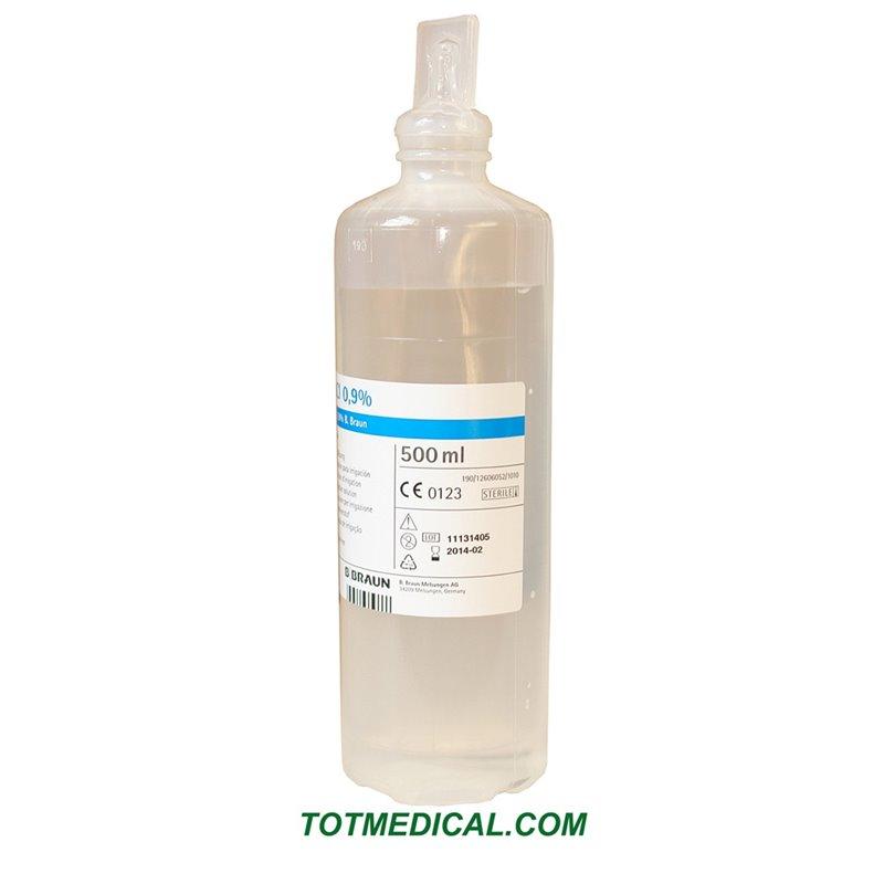 Apósito compresa de celulosa precortada para inyecciones
