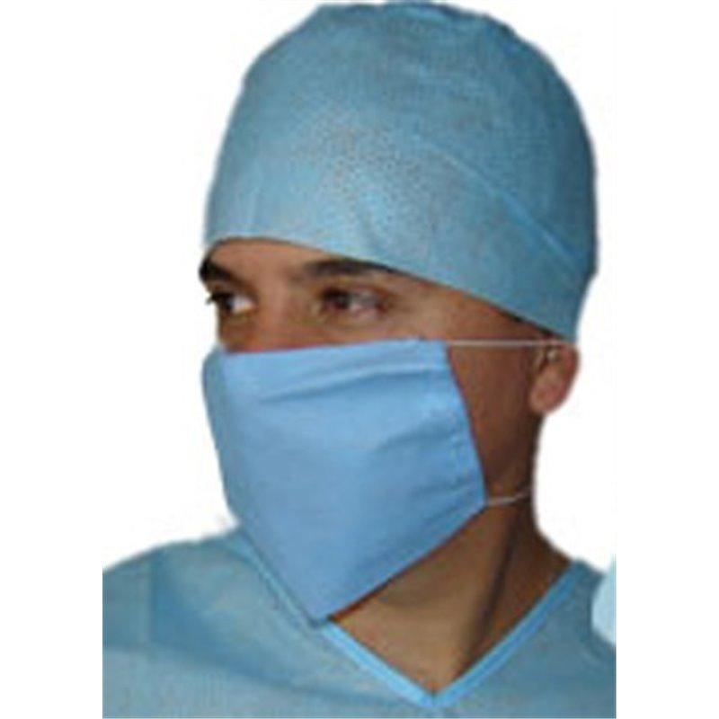 Gorro de cirujano con cintas Azul de 30 grs.