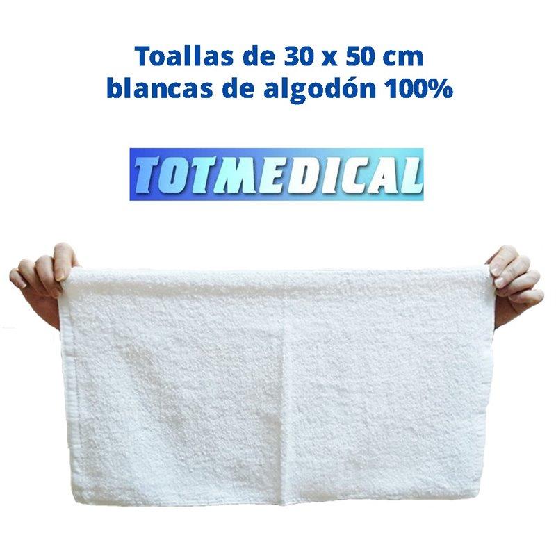 Toalla de 30x50 Blanca