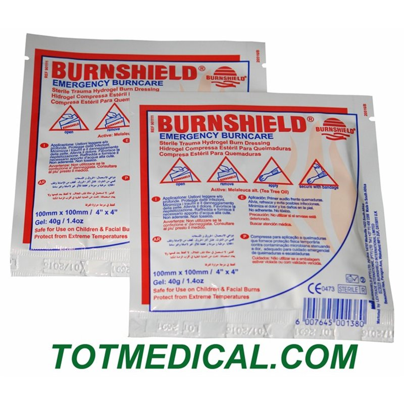 Apósitos para quemaduras Burnshield - 10x10
