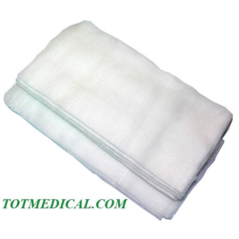 Pieza de gasa malla Calidad -C SUPERIOR- 40x60 Pleg. 10x20