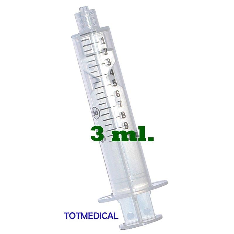 Jeringuillas con aguja de 10 ml. aguja de 0,8 x 40 – G21
