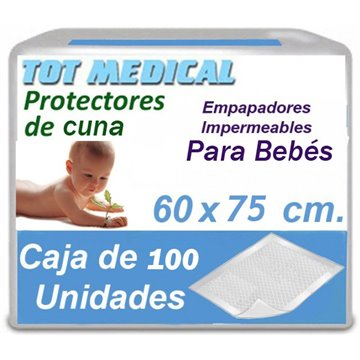Empapadores para bebes de 60 x 75 cm.