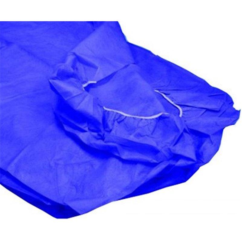 10 Sabanas desechables ajustables Azul oscuro de 95x220 cm. 40 grs.