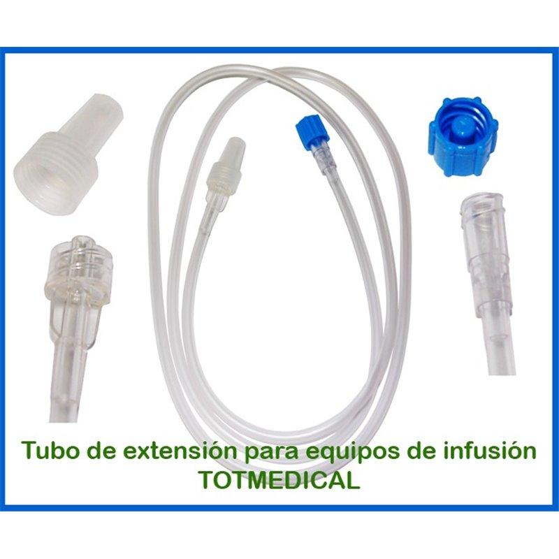 Tubo de extensión para equipos de infusión