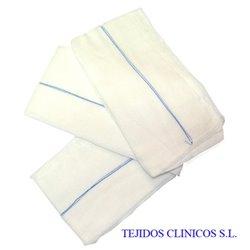 Apósitos de gasa de algodón de 17 hilos 40 x 80 cm. con RX – caja de 315 gasas.
