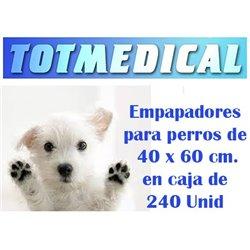 Empapadores para perros impermeables de 60 x 40 cm.