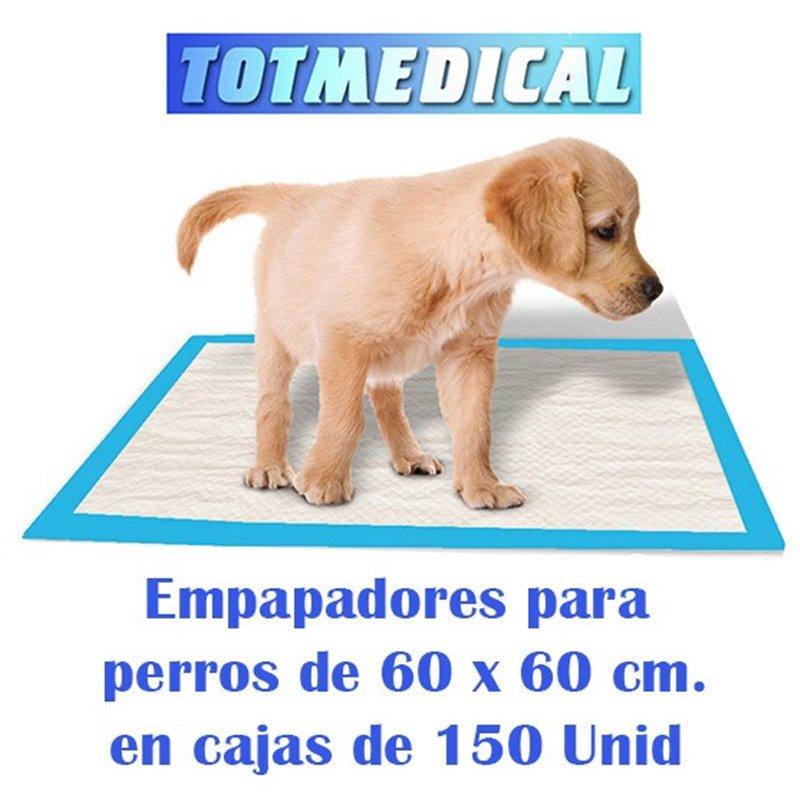 Empapadores para perros impermeables de 60 x 60 cm.