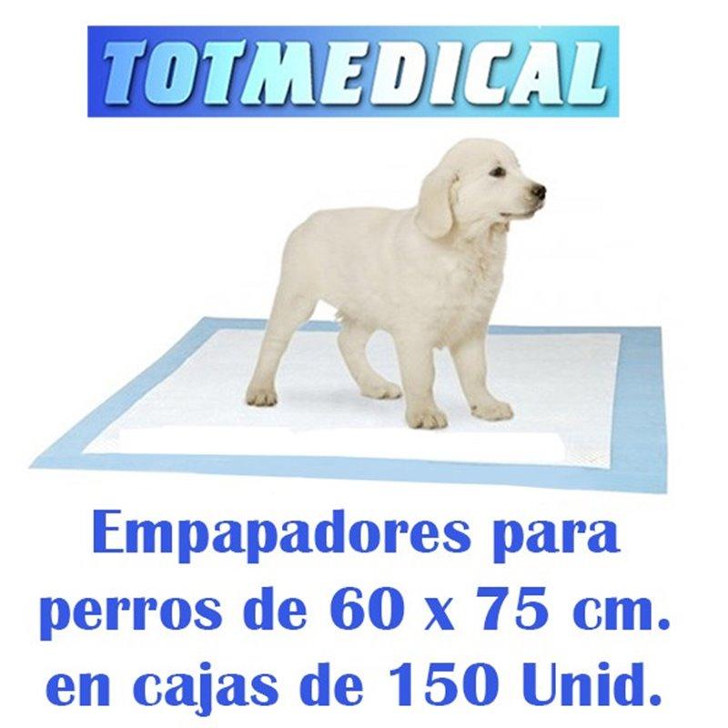Empapadores para perros impermeables de 60 x 75 cm.