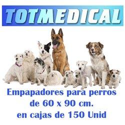 Empapadores para perros impermeables de 60 x 90 cm.
