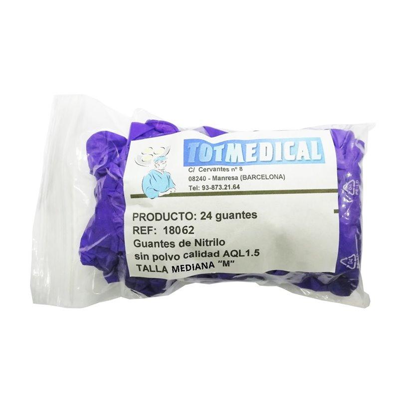 Apósitos de gasa de algodón de 15 hilos 7,5 x 5,5 cm. – caja de 2500 gasas.