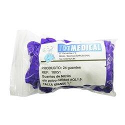 Apósitos de gasa de algodón de 17 hilos 40 x 40 cm. – caja de 625 gasas.