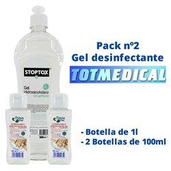 2000 Apositos de gasa de tejido sin tejer de 20x40 cm. - 4 capas plegado a 10x20 cm.